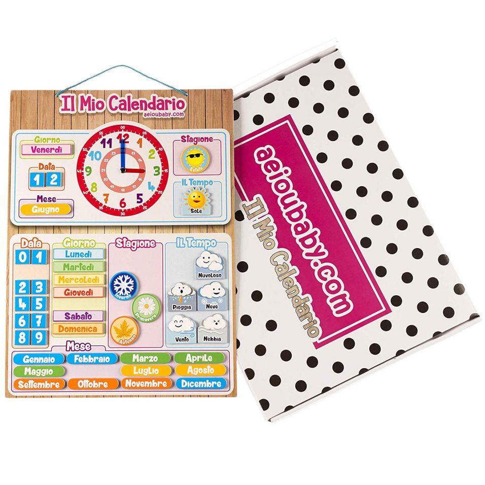Chi Ha Inventato Il Calendario.Calendario Per Bambini Pazzamentemamma
